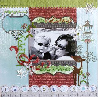 Carole maurin - sketch 262 - merry christmas